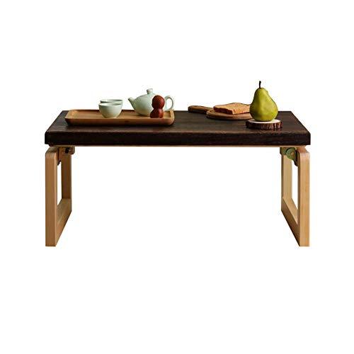 LRXGOODLUKE massief hout antieke koffietafel, opvouwbare studie tafel bed tafel duidelijk hout matige hardheid heldere kleur Anti druk en insectenbestendig