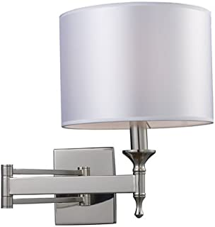 Elk 10160/1 Pembroke 1-Light Sconce Swing Arm In Polished Nickel