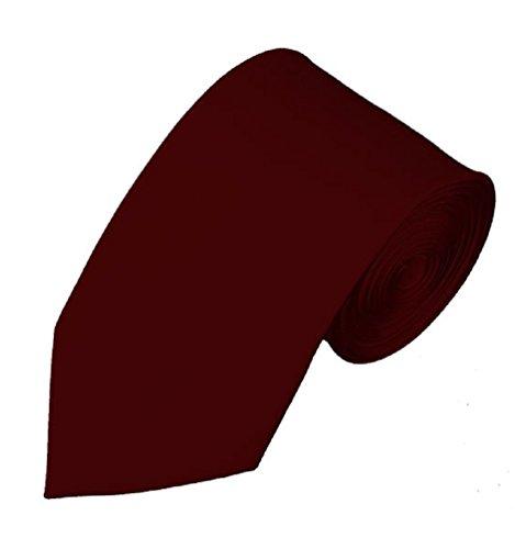 NYFASHION101 Men's Smooth Formal Solid Color 2.75