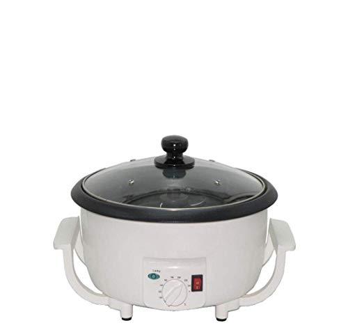 Tostadora eléctrica de Frutos Secos Máquina tostadora de Granos de café pequeña Mini máquina para freír Frijoles de Soja y Frutos Secos Máquina para cocinar Palomitas de maíz Adecu