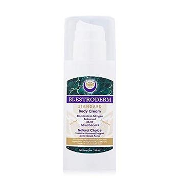 Best Balanced Natural Bioidentical 80/20 Estriol/Estradiol Cream Karma Flo Biestroderm  4 fl oz  Reduces Discomfort of Menopausal Symptoms