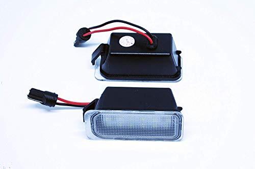 VINSTAR 2X Luces para MATRICULA LED Mondeo MK4 IV 4 MK5 V 5 CANBUS
