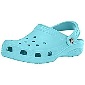 Crocs Classic Clog|Comfortable Slip On Casual Water Shoe, Pool, 8 M US Women / 6 M US Men