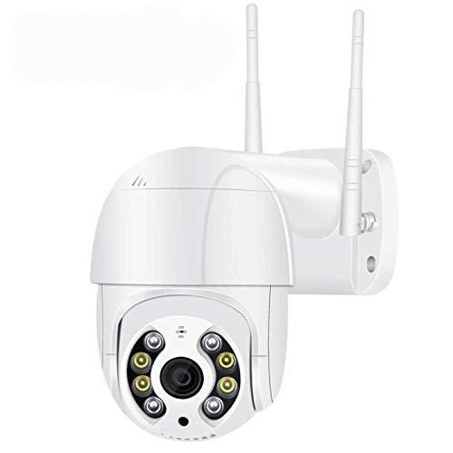 3MP PTZ Cámara IP inalámbrica IP a Prueba de Agua 4X Digital Zoom Speed Dome Super 1080P WiFi Seguridad CCTV Cámara Audio AI Detección Humana cámaras de Seguridad Sistemas de Seguridad para el