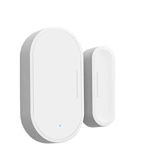 FENGCHUANG Sensor de puerta Zigbee Smart Sensor de puerta y ventana, alarma de seguridad inalámbrica inteligente Tuya para puertas y ventanas, compatible con Alexa Google, Zigbee Hub requiere