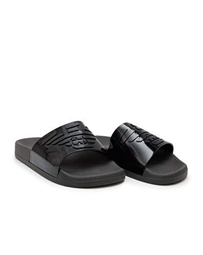 Emporio Armani Pantoffeln Flip Flop Damen Frau Meer oder Pool Beachwear Artikel X3PS02 XL825 SLIPPER