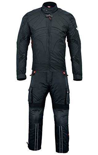 BULLDT 2-teiler Motorradkombi Cordura Textilien Motorradjacke + Motorradhose, 56/2XL