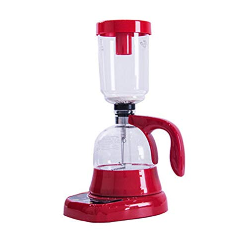 QHYY Sifon koffiezetapparaat volautomatisch koffiezetapparaat van roestvrij staal voor thuisfeesten en kantoor