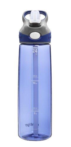 Contigo Straw Addison Water Bottle, 24 oz, Cobalt