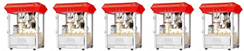 Review Of 6010 Great Northern Red 8oz Roosevelt Antique Countertop Style Popcorn Popper Machine (5-(...