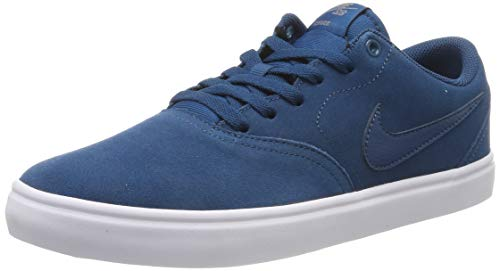 Nike SB Check Solar, Zapatillas de Skateboarding Unisex Adulto, Multicolor (Blue Force/Blue Force/Gunsmoke/White 404), 41 EU