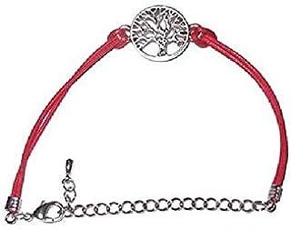 سوار شجرة الحياة مع خيط احمر - صناعة يدوية