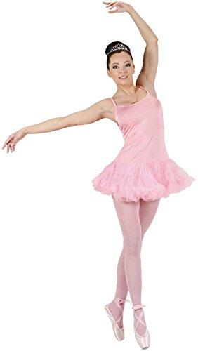 Widmann Damen-Kostüm Prima Ballerina, Weiß, Größe L (SA-76413)