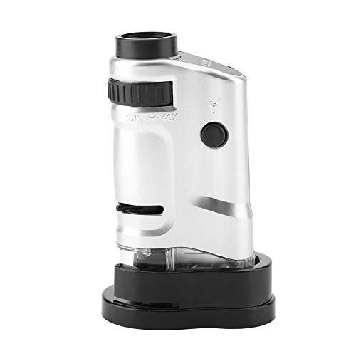 Microscope LED Endoscope Microscope éclairé Mini poche grossissement numérique 20X à 40X pour les étudiants