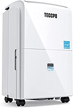 TECCPO 3000 Sq.Ft Dehumidifier Powerful 30 Pint Dehumidifiers for Home Intelligent Humidity Control Continuous Draining