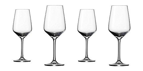 Vivo 19-5300-8120 Voice Basic Weissweinglas Set 4 teilig Gläsersets, transparent, 16.2 x 16.2 x 21.3 cm, 4 Einheiten