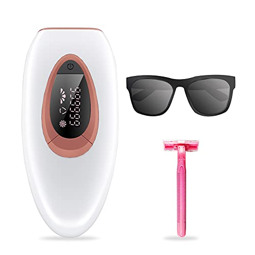IPL Hair Removal Device Permanent Painless Devices Hair Removal 999,999 Flashes At-Home Use...