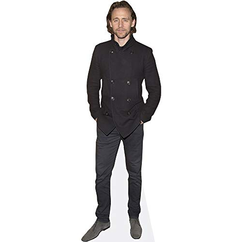 Celebrity Cutouts Tom Hiddleston (Black Jacket) Pappaufsteller lebensgross