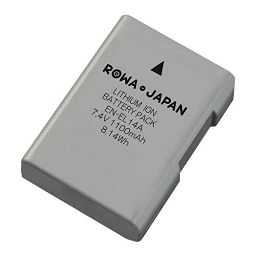 NIKON対応 COOLPIX EN-EL14 EN-EL14A EN-EL14e 互換バッテリー【残量表示 純正充電器対応】【最新ICチップ採用】【ロワジャパンPSEマーク付】