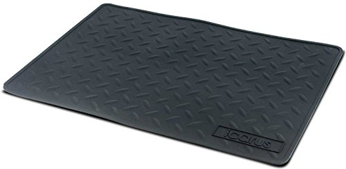 """Icarus Silicone Heat Resistant Mat, Heat Proof Hot Tool Appliance Station Mat, 16"""" x 11"""""""