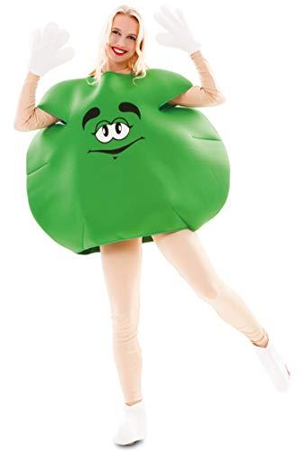 Eurocarnavales - Cs925814 - Costume Bonbon Vert Mixte Taille M
