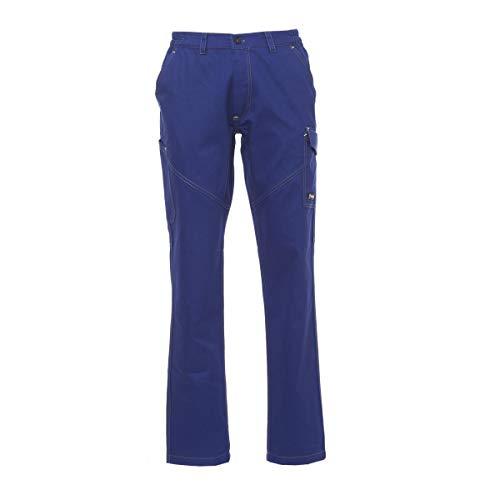PAYPER deva store Pantaloni da Lavoro multistagione Cotone 100% Comodi e Resistenti (Nero, 48/50)
