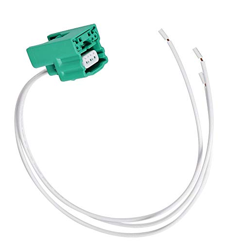 DSparts Replaces Camshaft Position Sensor Connector Plug harness Fit for Nissan Infiniti VQ35DE 3.5L V6 engines (Green)