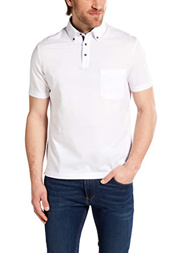 eterna Poloshirt Regular FIT Piqué unifarben