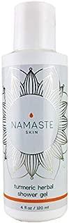 Namaste Skin Turmeric Herbal Shower Gel with Soothing Lavender Essential Oil (120ml Bottle)