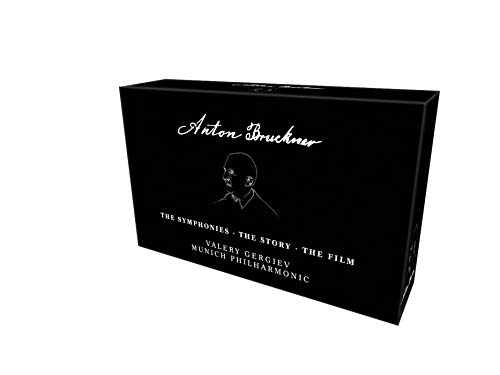 Anton Bruckner - The Symphonies . The Story . The Film (+ 4 BRs) [6 DVDs]