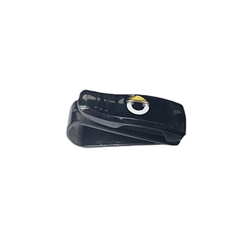 AniFM Supporto per Occhiali da Sole per Auto con Visiera Parasole per Smart Fortwo Forfour 453 451 450 Crossblade City Cabrio City-Coupe Roadster