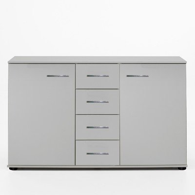 Wimex Kommode/ Kombikommode Anna, 2 Türen, 4 Schubladen, (B/H/T) 83 x 41 x 130 cm, Weiß