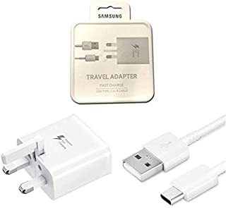 Samsung 15W Travel Adapter with Type-C to USB - White
