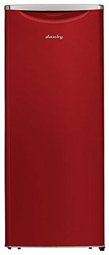 Danby DAR110A2LDB 11.0 cu.ft. Contemporary Classic All Refrigerator, Red