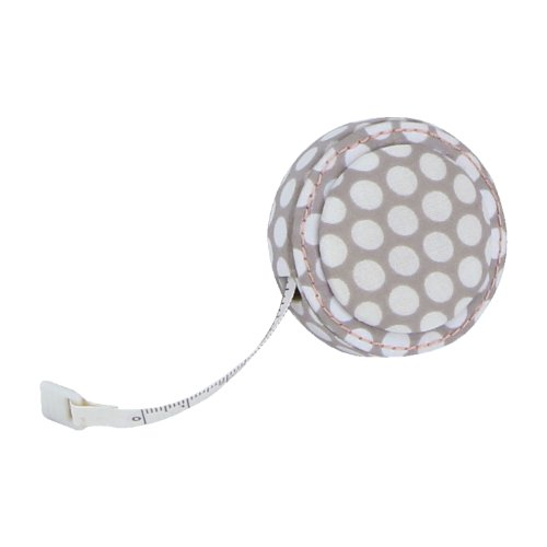 BUTTON IT- NEW FOR 2014 ? All My Love Polka Dot Mink Tape Measure.