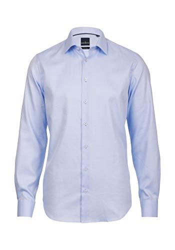 Daniel Hechter Herren Loose Fit Business Hemd, Gr. Kragenweite: 40 cm (Herstellergröße: 040) Blau (blue 62)