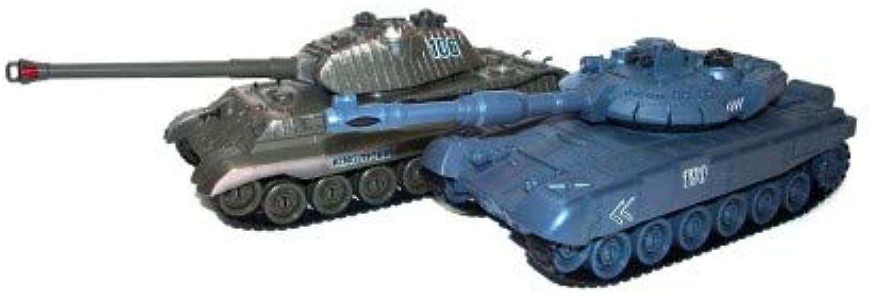 compras de moda online Dúo Combinado de Tanques T90 Ruso Ruso Ruso y alemán King Tiger 27MHz   35Mhz 1 28 RTR   33cm  mas barato
