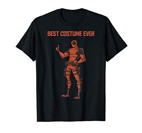 Marvel Deadpool Best Costume Ever Portrait T-Shirt