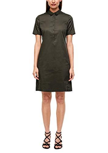 s.Oliver BLACK LABEL Damen 150.12.006.20.200.2042153 Kleid, Khaki, 40
