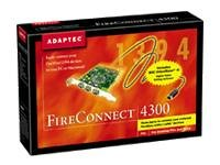 Adaptec Fireconnect 4300 PCI-FireWire-Controller mit 3 Ports