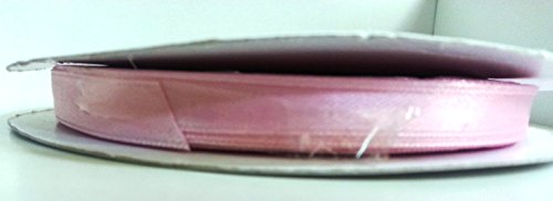 Nastro Rosa doppio raso h 10mm 50mt