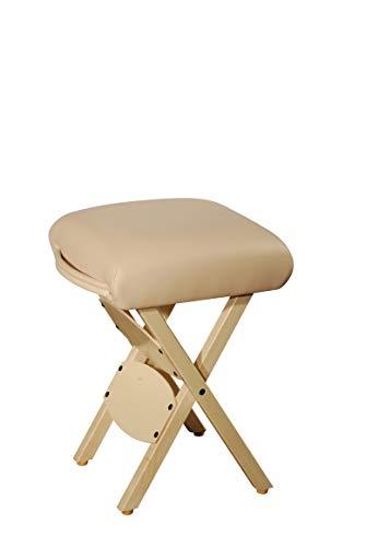 Master Massage Tables Lightweight Wooden Handy Folding Massage Stool