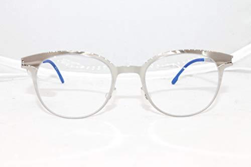 MYKITA FLIP Shinysilver Clear Kids Eyeglasses Frame Made in Germany