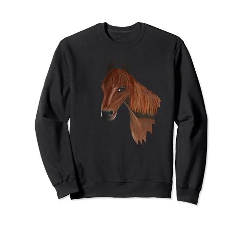 Mit Pferd, Pony unterwegs Sweatshirt
