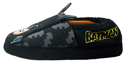 DC Comics - Zapatillas de Batman para niños (Numeric_9), color negro