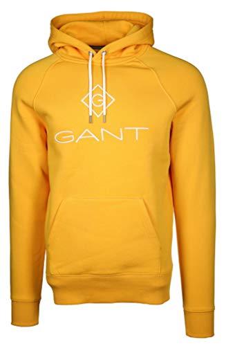GANT Herren Hoodie Größe L Gelb (gelb)