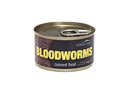 Artemia Konservierte Mückenlarven Canned Bloodworms 100 g Dose 15130 (1 STK.)