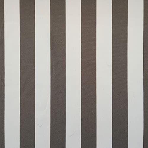 Panini Tessuti, Tessuto da Esterno Venduto al Mezzo Metro, 1 qtà=50 cm;2 qtà=100 cm; Ideale per Rivestimenti da Esterno,poltrone,divani,sedie,Cuscini,tovaglie,sdrai,lettini