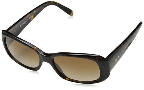 Vogue Eyewear Damen Vo2606s Sonnenbrille, Schwarz (Dark Havana W65613), One size (Herstellergröße: 55)