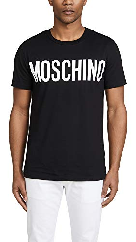 Moschino Couture Large Moschino Logo T-Shirt Medium Black